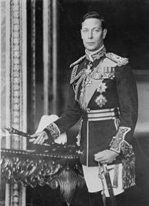 membangun komunikasi efektif dengan strategy gimmick Raja George VI