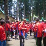 Training outbound dengan PT Khongguan DIY Jawa Tengah Di Pancuran 7 Purwokerto