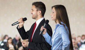 tiga gaya presentasi pembicara publik presentasi seremonial