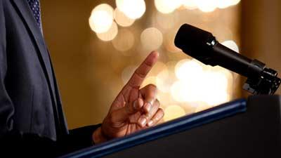 berani tampil berbicara di depan umum